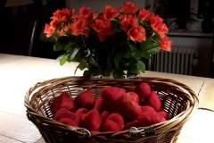 Hjerter ved roser