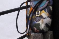 Skuldertaske close up